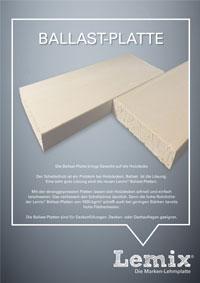 LEMIX® Ballast-Platte