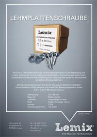 LEMIX® Lehmplattenschraube